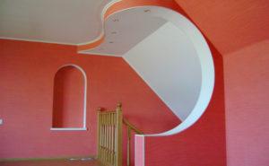Стены и потолок из гипсокартона фото