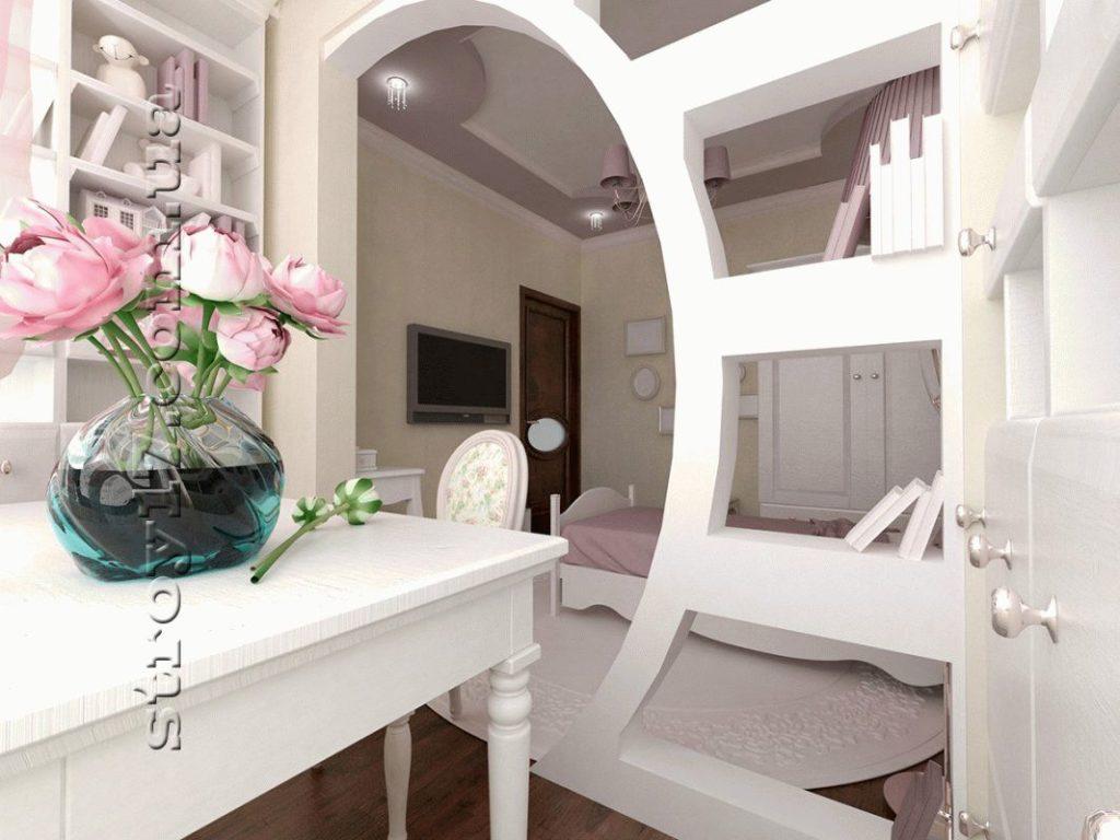 Визуализация детской спальни фото 2