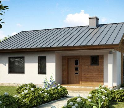 Смета на строительство одноэтажного каркасного дома по проекту Z78