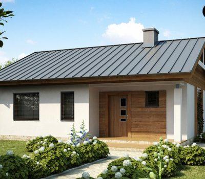 Смета на строительство одноэтажного дома из блоков поризованной теплой керамики по проекту Z78