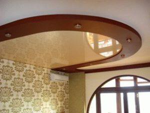 Натяжной потолок фото 2