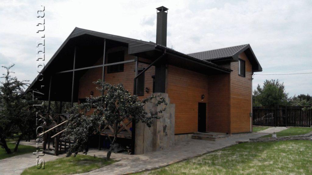 Каркасный дом по проекту Водобуд фото