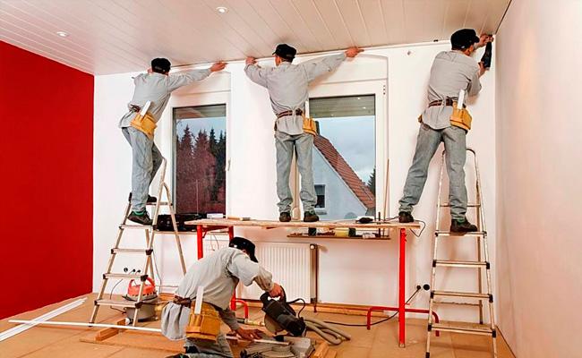Ремонтно-отделочные работы под ключ фото