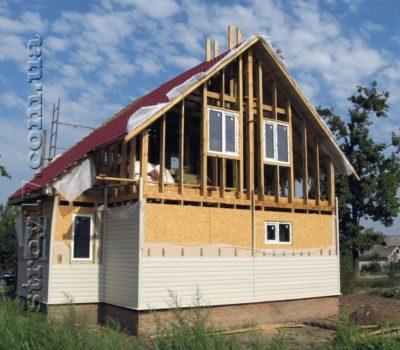Сколько стоит каркасный дом «под ключ»