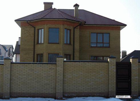 Дом из поризованной керамики фото 3