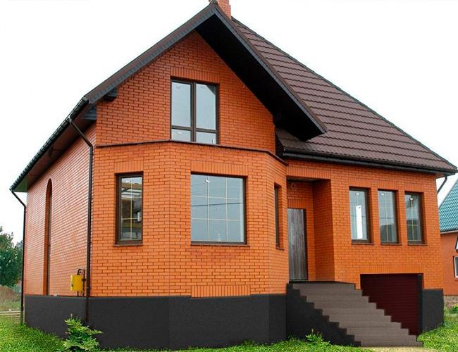 Дома из поризованной керамики