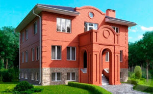 Дом из керамических блоков фото 1