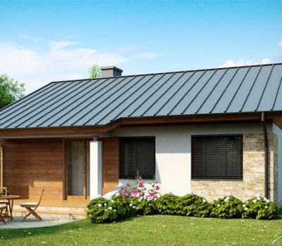 Смета на строительство одноэтажного дома из газобетонных блоков под отделочные работы по индивидуальному проекту Z78