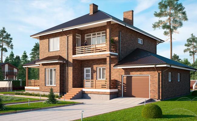 Строительство домов из поризованной керамики в Харькове