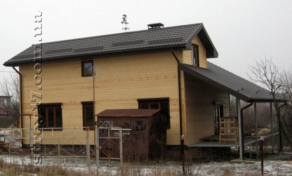 Дачный дом по канадской технологии фото 10