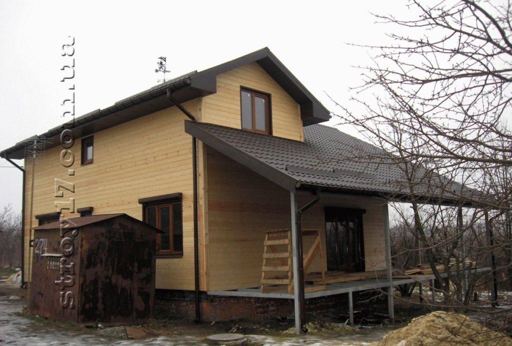 Дачный дом по канадской технологии фото 8