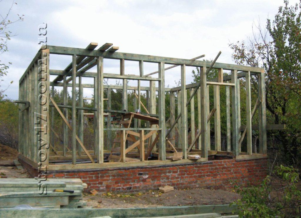 Строительство деревянной бани Водобуд фото 6