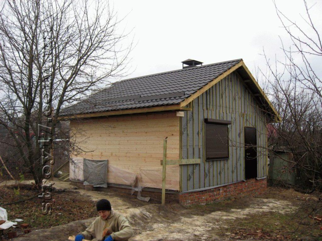 Деревянная баня Водобуд фото 6