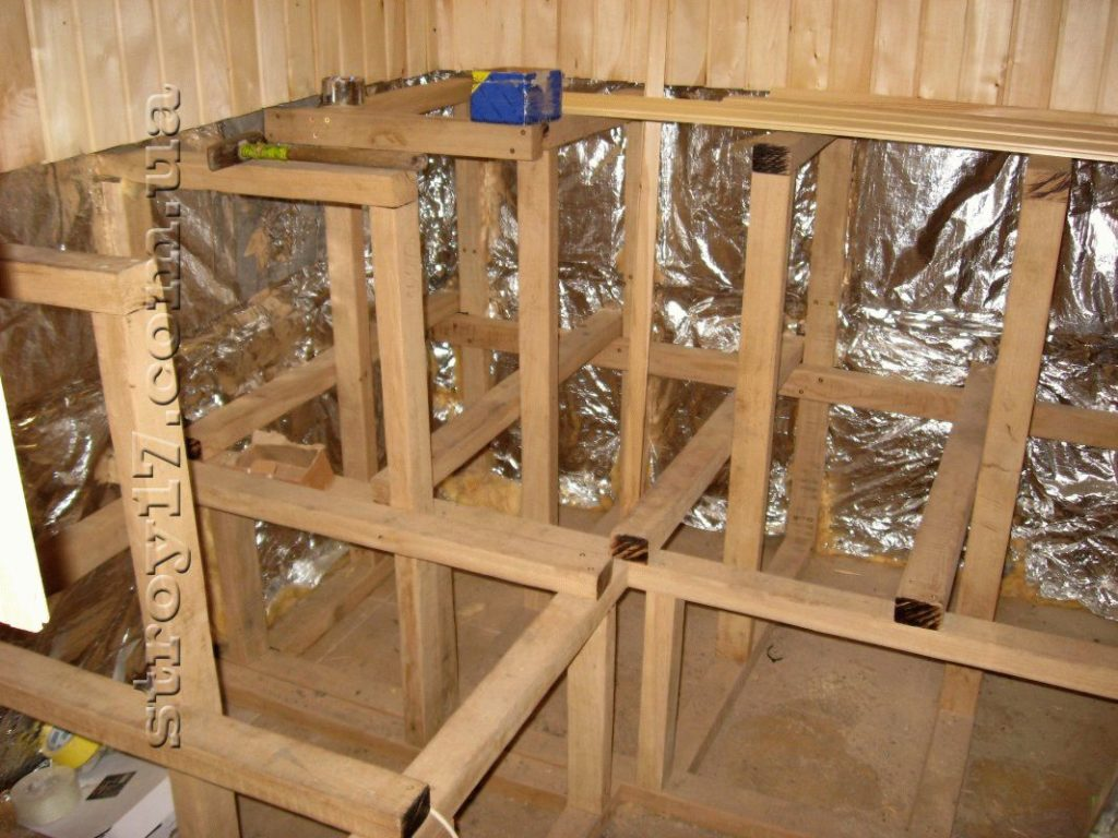 Деревянная баня частного дома фото 6