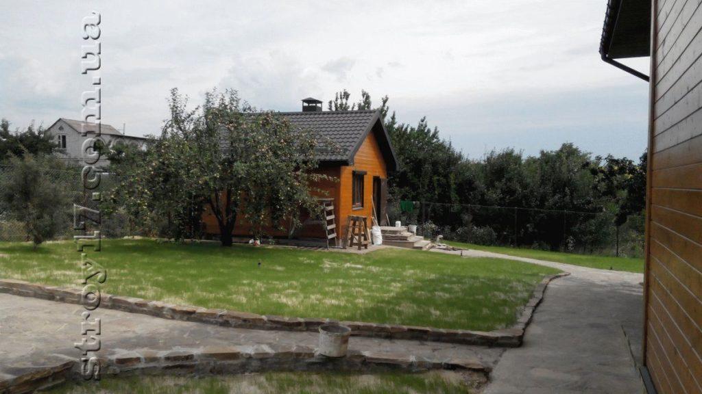 Деревянная баня в частном доме Водобуд фото 1