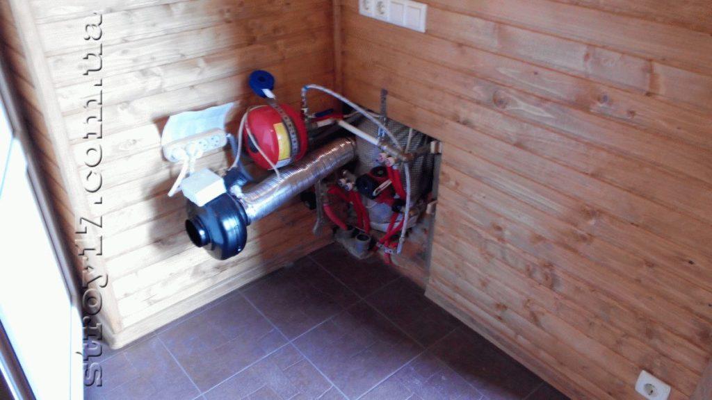 Деревянная баня в частном доме Водобуд фото 2