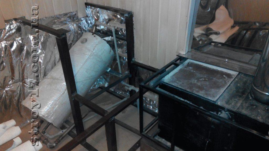 Деревянная баня в частном доме Водобуд фото 3