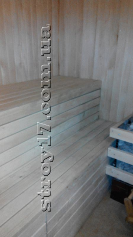 Деревянная баня в частном доме Водобуд фото 6