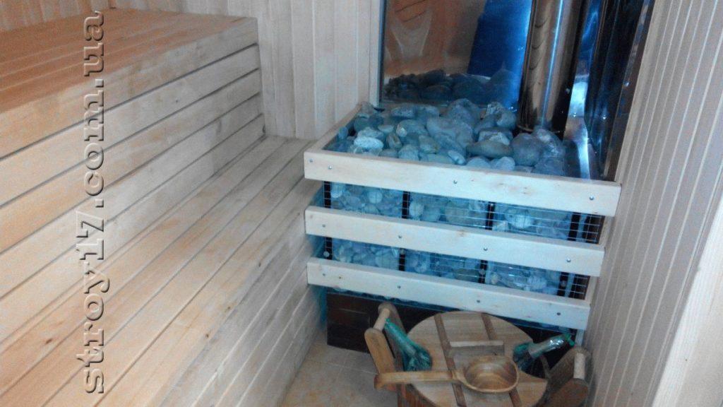 Деревянная баня в частном доме Водобуд фото 7
