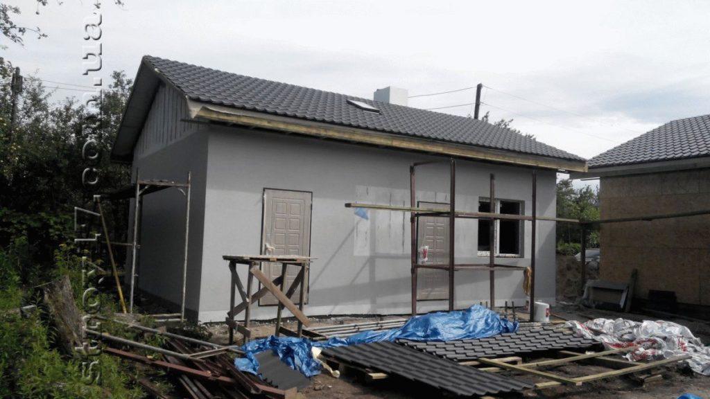 Строительство деревянной бани фото 5