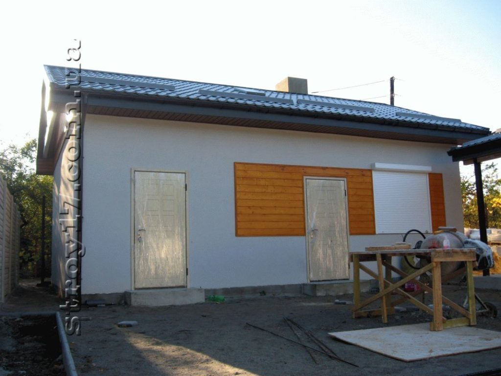 Деревянная баня частного дома фото 2
