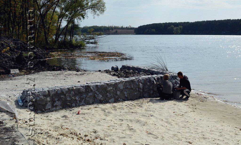 Благоустройство береговой линии по проекту Водобуд-2 фото