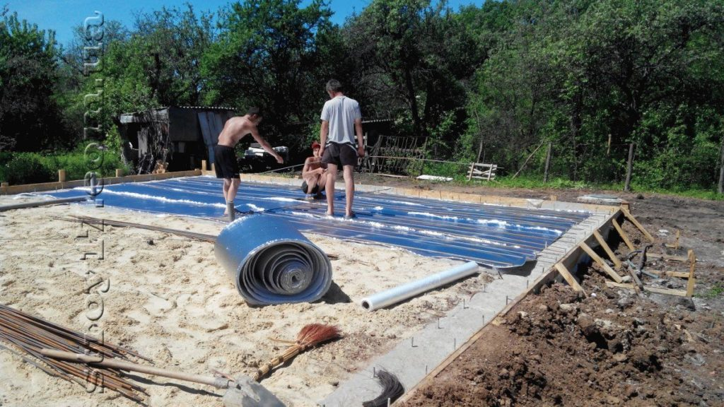 Строительство каркасного дома фото 1