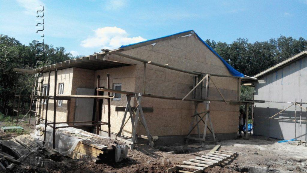 Строительство каркасного дома фото 12