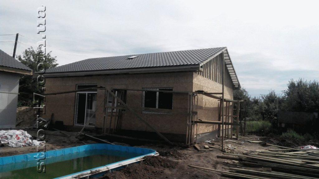 Строительство каркасного дома фото 15