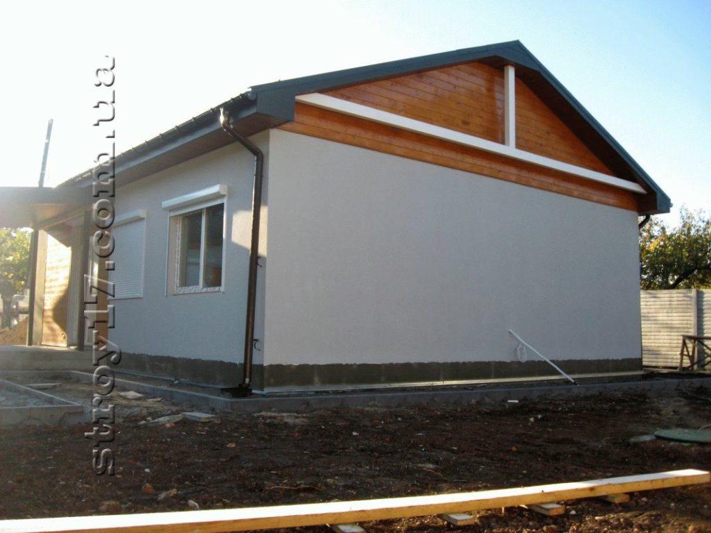 Строительство каркасного дома по проекту