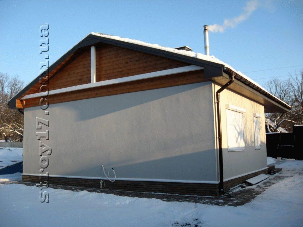 Каркасный частный дом по проекту