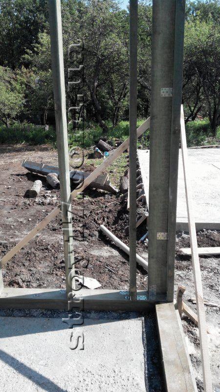 Строительство каркасного дома фото 4