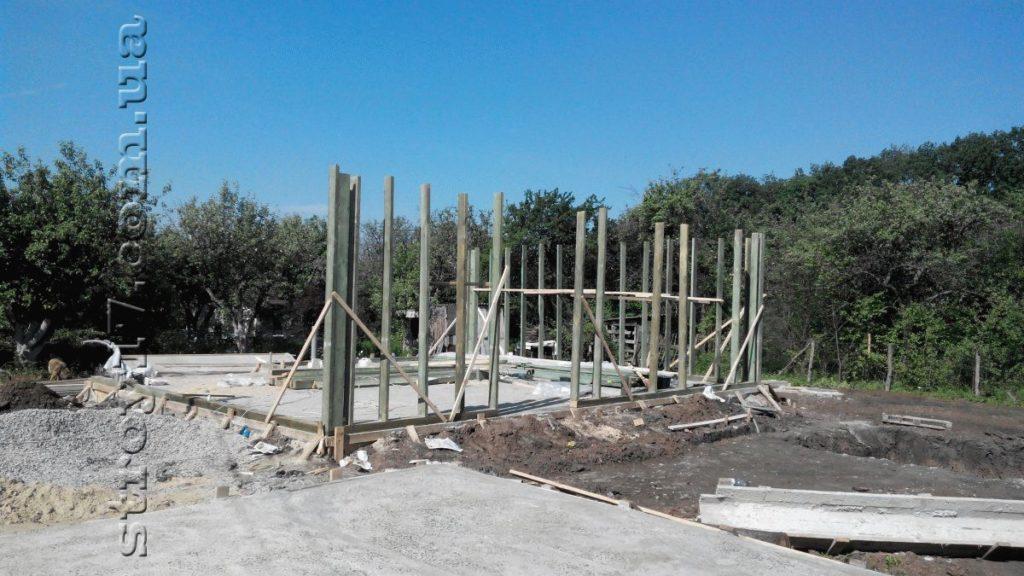 Строительство каркасного дома фото 5