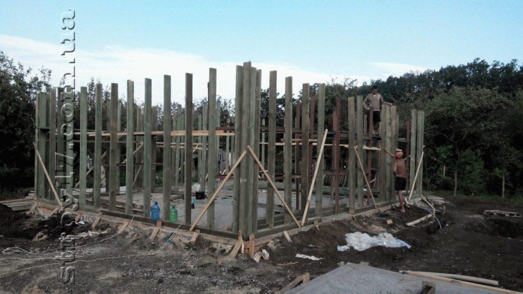 Строительство каркасного дома фото 6