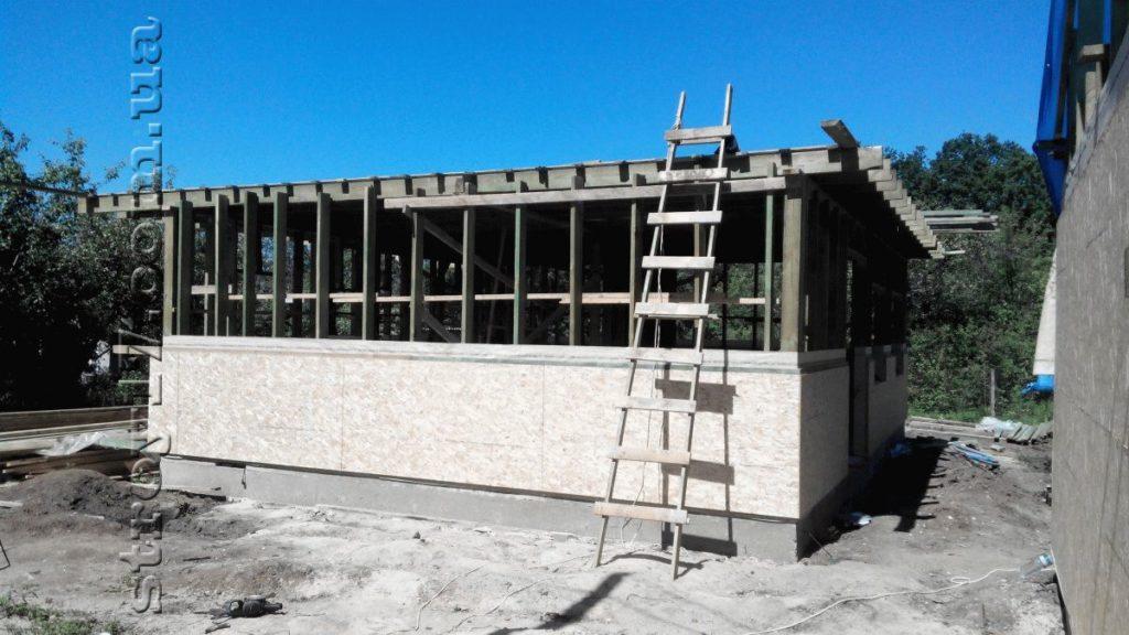 Строительство каркасного дома фото 7