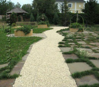 Фотографии выполненных работ по ландшафтному дизайну на Даниловке, Харьков