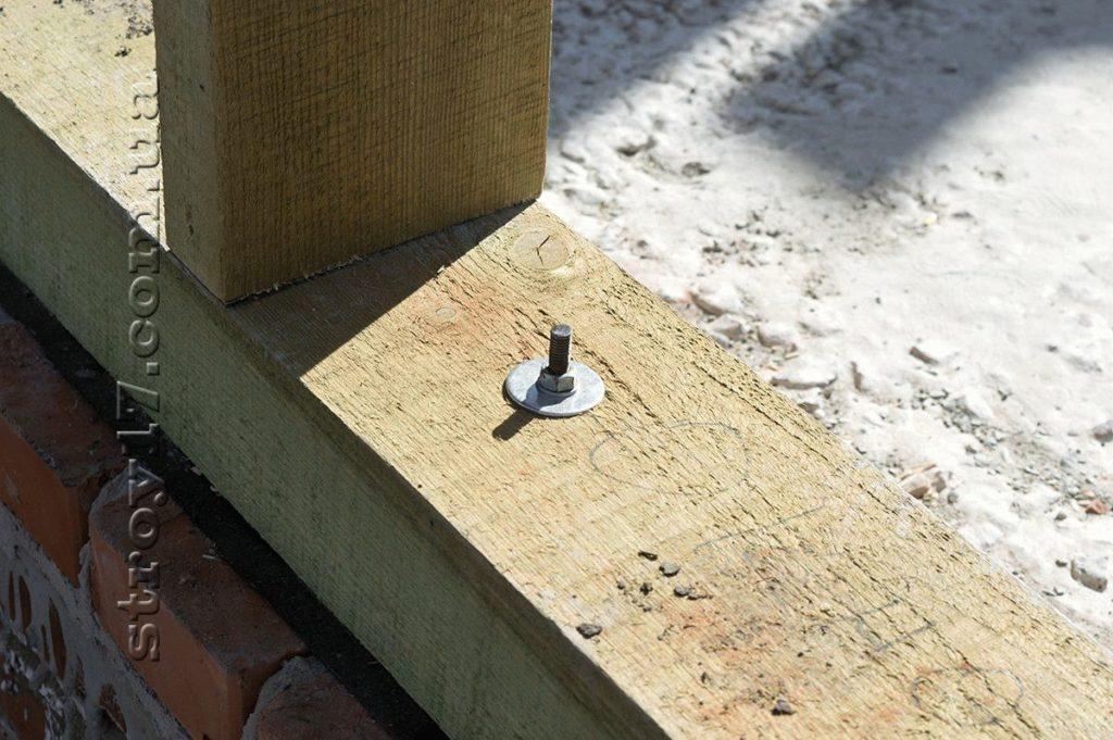 Фиксация венцового бруса по проекту Водобуд-2 фото 2