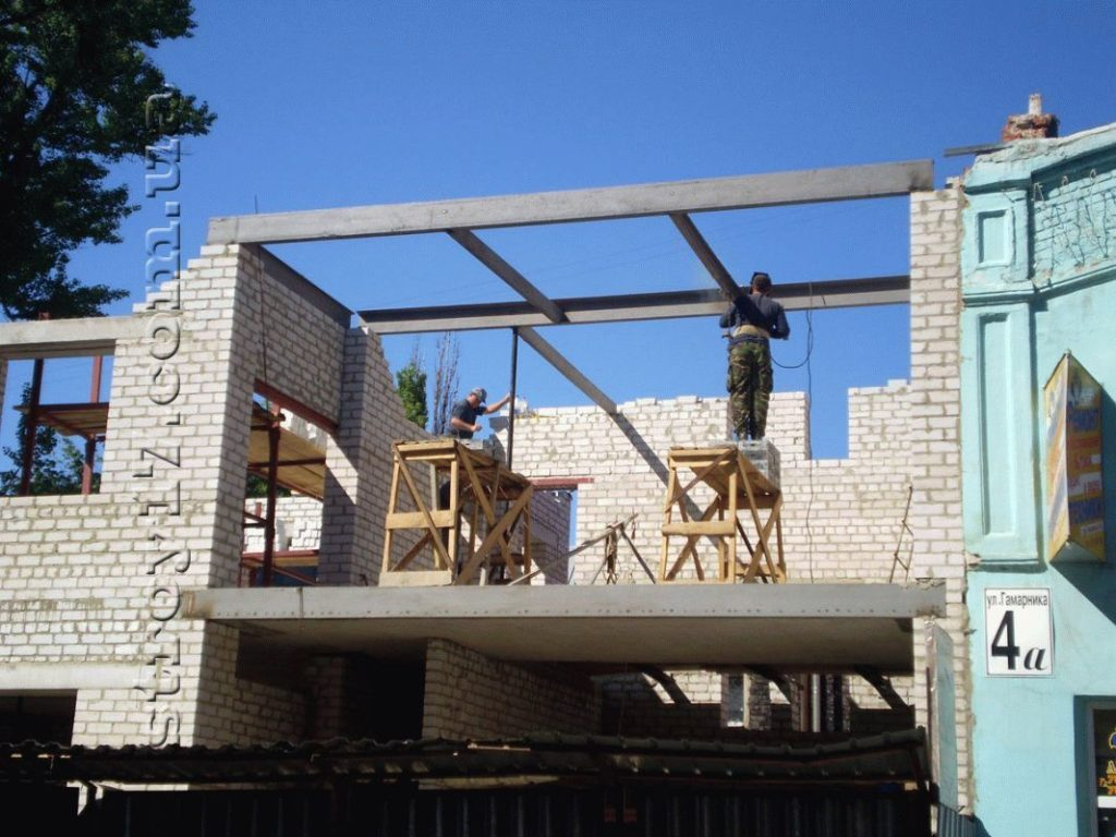 Реконструкция дома в Харькове фото 13