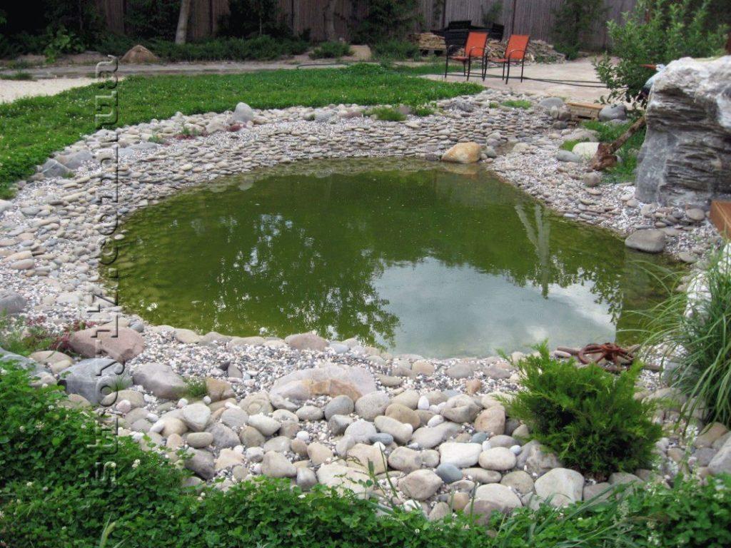 Декоративный пруд фото 1