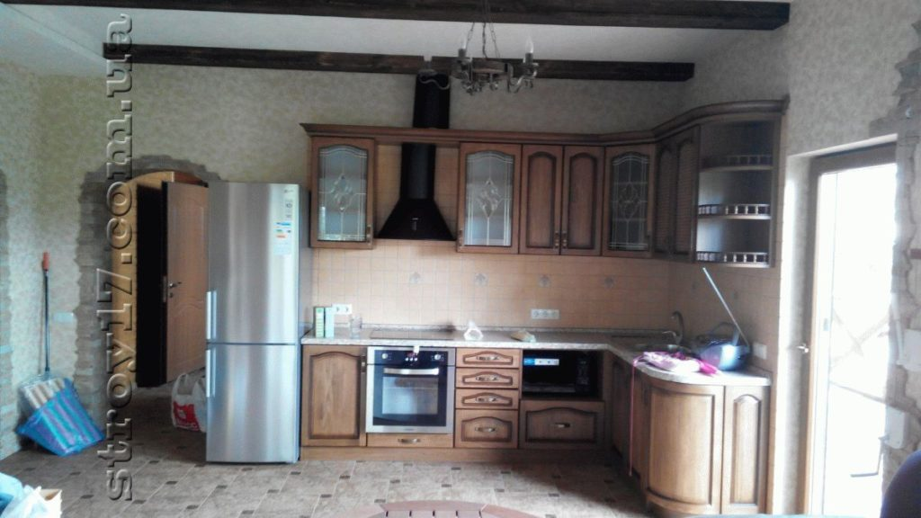 Кухня дачного дом по канадской технологии фото 1