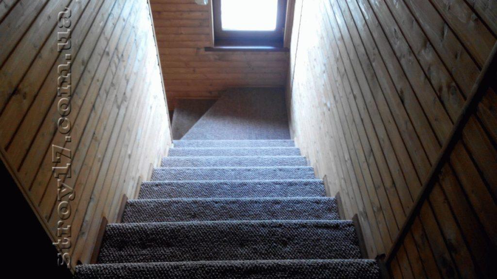 Лестница дачного дома Водобуд фото 2
