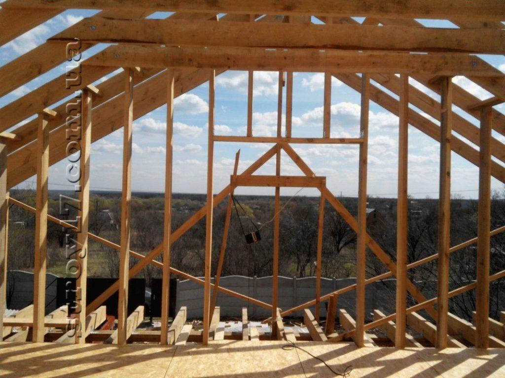 Строительство каркасного дома по проекту Z197 фото 17