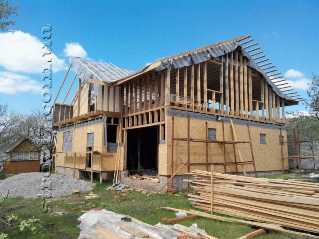 Строительство каркасного дома по проекту Z197 фото 16