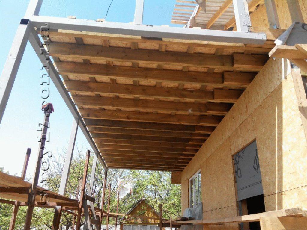 Строительство каркасного дома по проекту Z197 фото 13