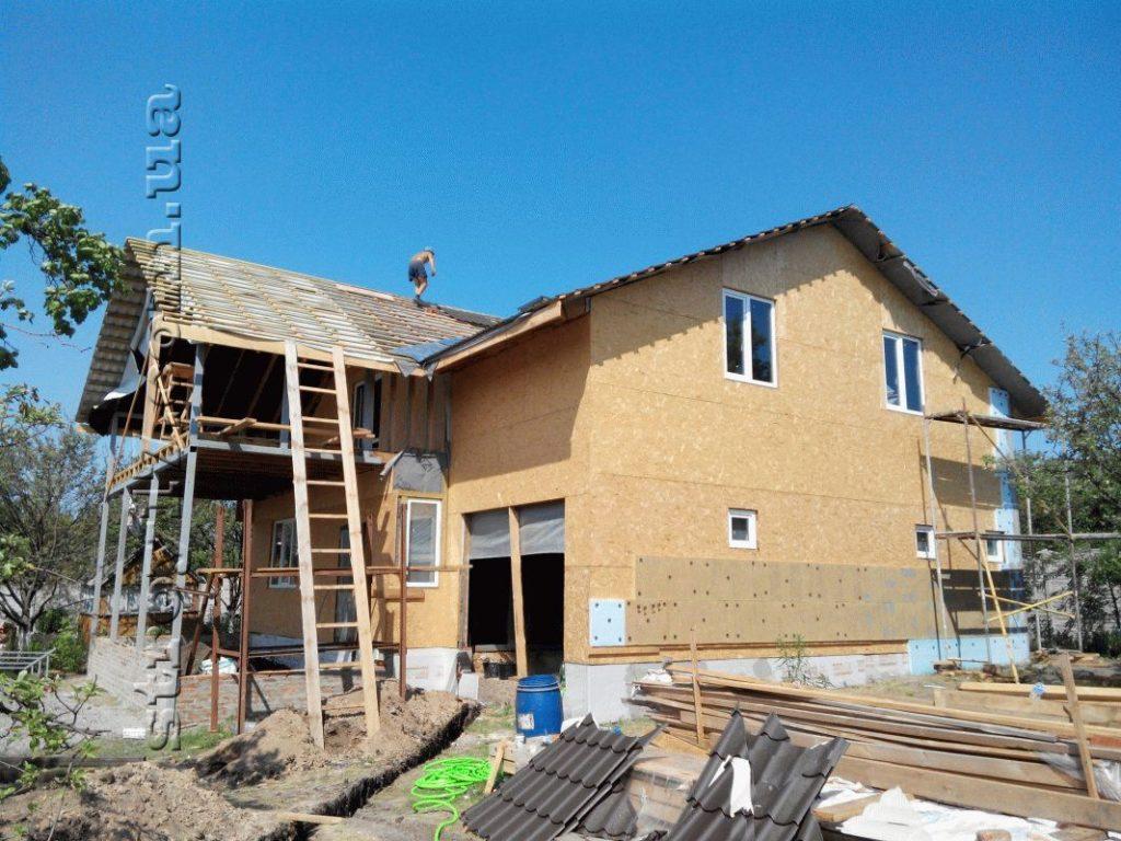 Строительство каркасного дома по проекту Z197 фото 7