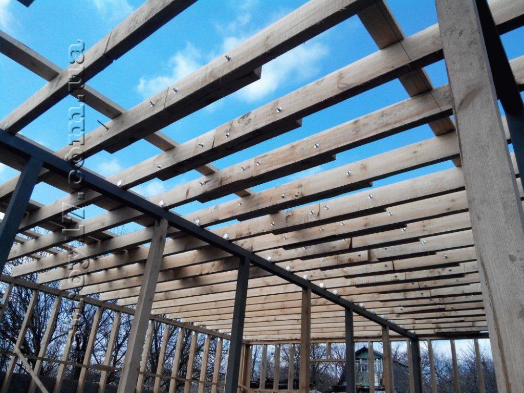 Строительство каркасного дома по проекту Z197 фото 22