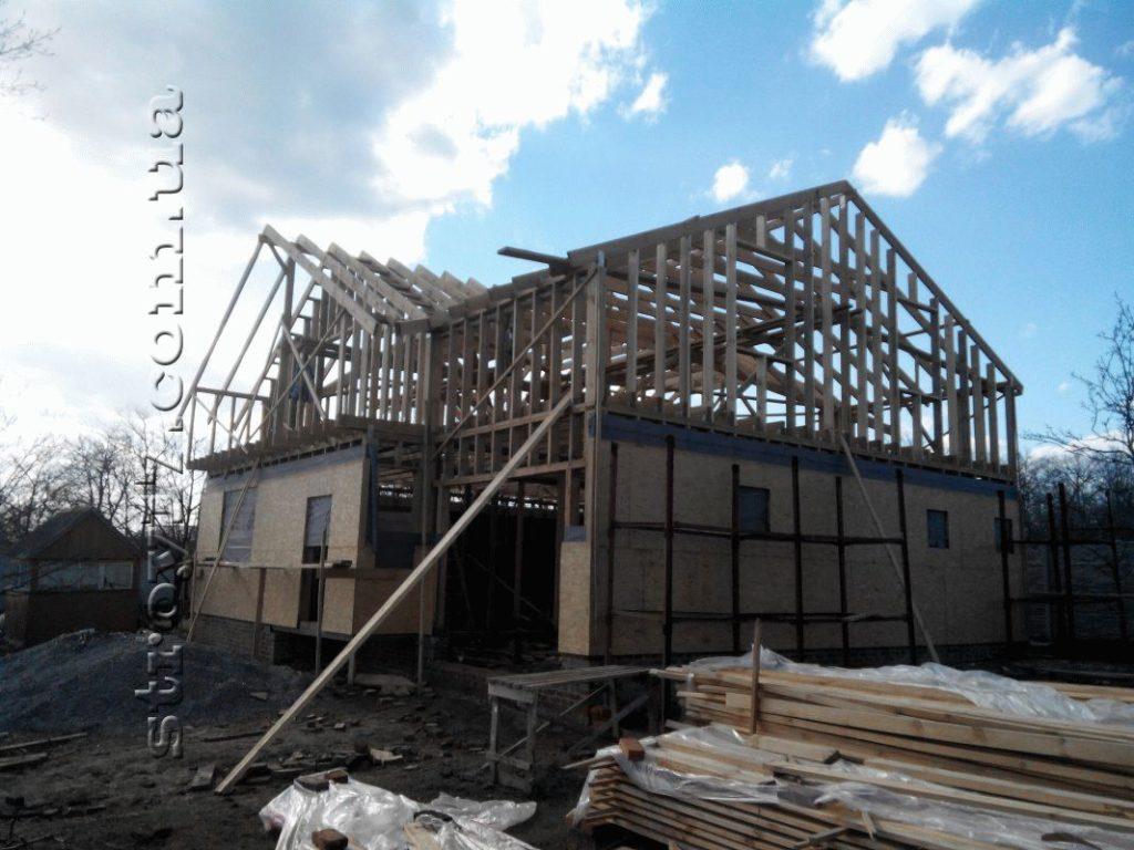 Строительство каркасного дома по проекту Z197 фото 20