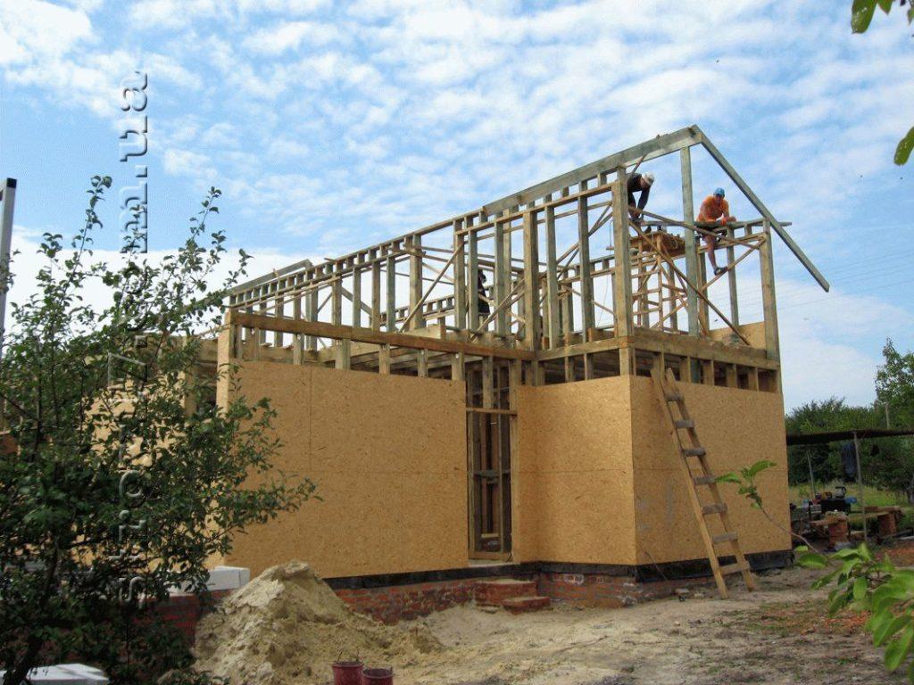 Строительство дачного дома «Водобуд» по канадской технологии фото 2