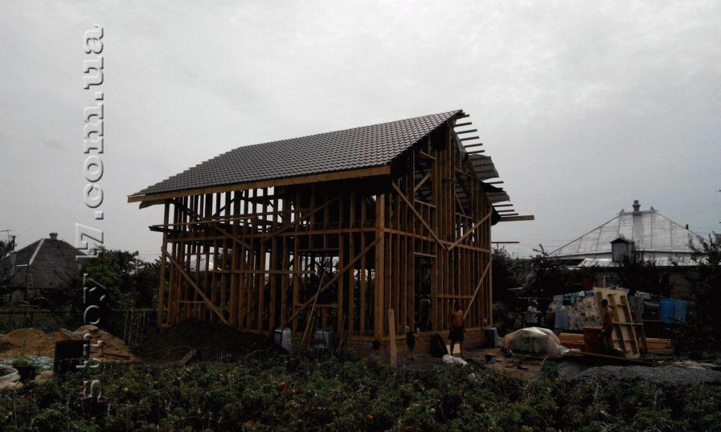 Каркасный частный дом по проекту Миниатюрка фото 5