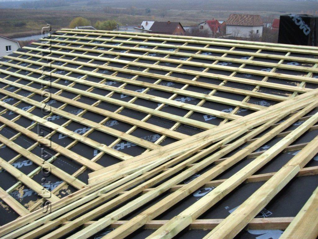 Возведение крыши Водобуд фото 4